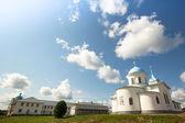 Russian orthodox monastery, Tervenichi. — Stock Photo