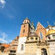 Wawel Castle in Krakow — Stock Photo