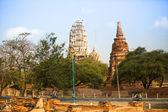 Wat Mahathat temple — Stock Photo