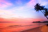 Sunset on the ocean — Stock Photo