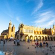 Main Square in Krakow — Stock Photo