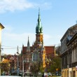 Roman Catholic church in Krakow — Stock Photo