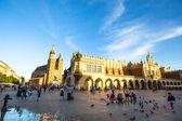Main Square in Krakow — Stock Photo