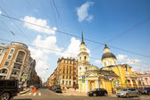 Historical center ST.PETERSBURG — Stockfoto