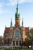 Roman Catholic church in Krakow — Stock Photo
