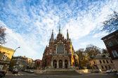 Historic Roman Catholic church — Stock Photo