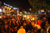 New Year in Chiangmai, Thailand. — Stock Photo