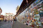 Historical center of Krakow — Stock Photo