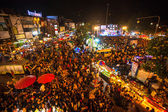 New Year celebrations in Chiangmai — Stock Photo