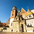 Royal palace in Wawel in Krakow — Stock Photo