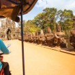 Cambodimoto-rickshaws — Stock Photo #34282153
