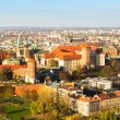 Royal Wawel castle   in Krakow — Stockfoto