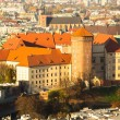 Royal Wawel castle in Krakow. — Stock Photo