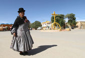 Center of city Potosi, Bolivia. — Stock Photo