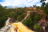 Mountains in Pai Canyon — Stock Photo
