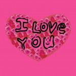 I Love You inscription — Stock Vector #34283125