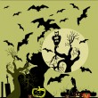 Halloween background. — Grafika wektorowa