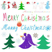 Ozenit se vánoce — Stock vektor