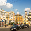 Historical center, Petersburg, Russia. — Stockfoto