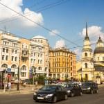 Historical center, Petersburg, Russia. — Stock Photo