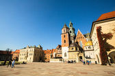 Royal palace in Wawel in Krakow, Poland. — Stock Photo