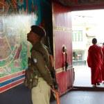 Entrance to Rumtek Monastery — Stock Photo #34541973