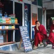 Monks in the Rumtek Monastery — Stock Photo