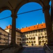 Royal palace in Wawel in Krakow — Foto de Stock