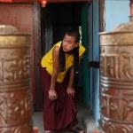 Monk in the Rumtek Monastery — Stock Photo #34542357