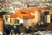 Royal Wawel castle in Krakow — Stock Photo