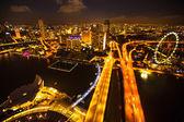 Marina bay hotel — Stockfoto
