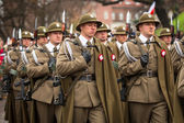 National Independence Day an Republic of Poland — Stockfoto