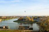 在华沙维斯杜拉河 — Φωτογραφία Αρχείου