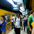 Buenos Aires subway — Stock Photo