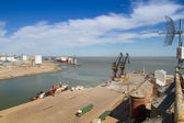 Port of Ingeniero White — Stock Photo