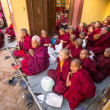 Stock Photo: Buddhist monks