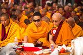 Monges budistas — Foto Stock