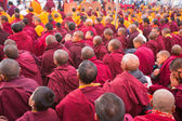 Buddhist monks — Stockfoto