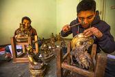 Nepalese tinman — Foto de Stock