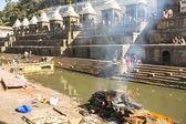 Holy Bagmati River — Stok fotoğraf