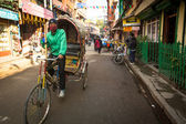 Nepali rickshaw — Stock Photo