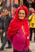 Yaşlı kadın — Stok fotoğraf