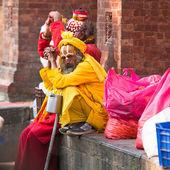 Sadhu Monks — Foto Stock