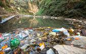 загрязнение окружающей среды — Стоковое фото