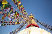 Bodhnath stupa kathmandu — Stok fotoğraf