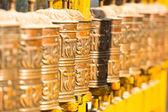 Rodas de oração budista — Foto Stock