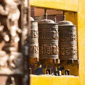 Budist dua tekerlekleri — Stok fotoğraf