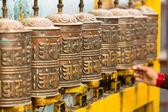 Tibet budist dua tekerlekleri — Stok fotoğraf