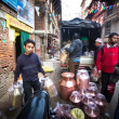 Unidentified Nepalese tinmans working in the his workshop — ストック写真 #38727283