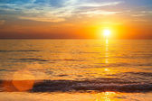 Sunset over ocean, nature composition. — Foto de Stock